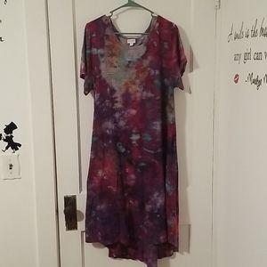LuLaRoe custom tie dye Carly! (Size 3X)